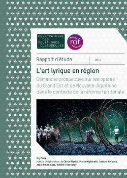 L'art lyrique en région