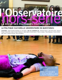 La politique culturelle universitaire en question(s)